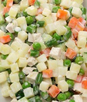 Salade macédoine de légumes