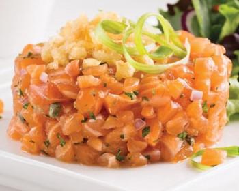 Tartare de saumon (mini 10 pers)