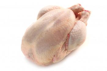 Poulet prêt à cuire