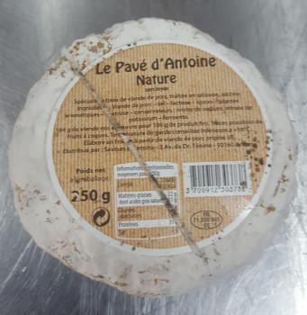 Saucisson pavé d'Antoine nature