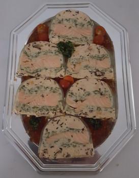 Terrine de saumon (mini 10 pers)